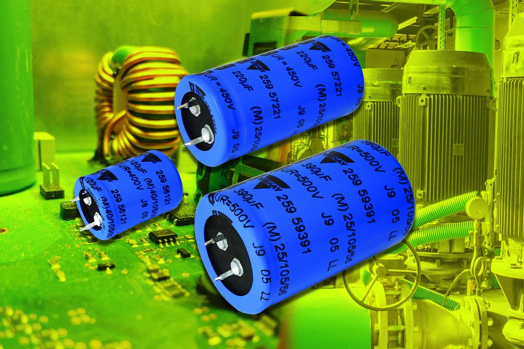 Vishay Intertechnology Snap In Power Aluminum Capacitors