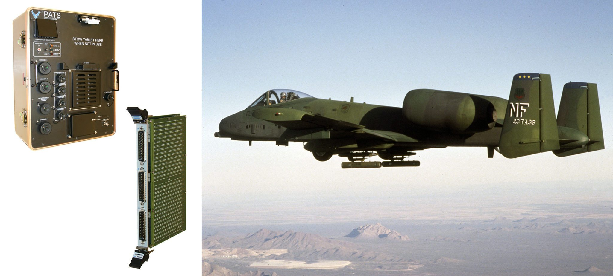 Pickering Interfaces PXI Switching Module Selected for A-10C