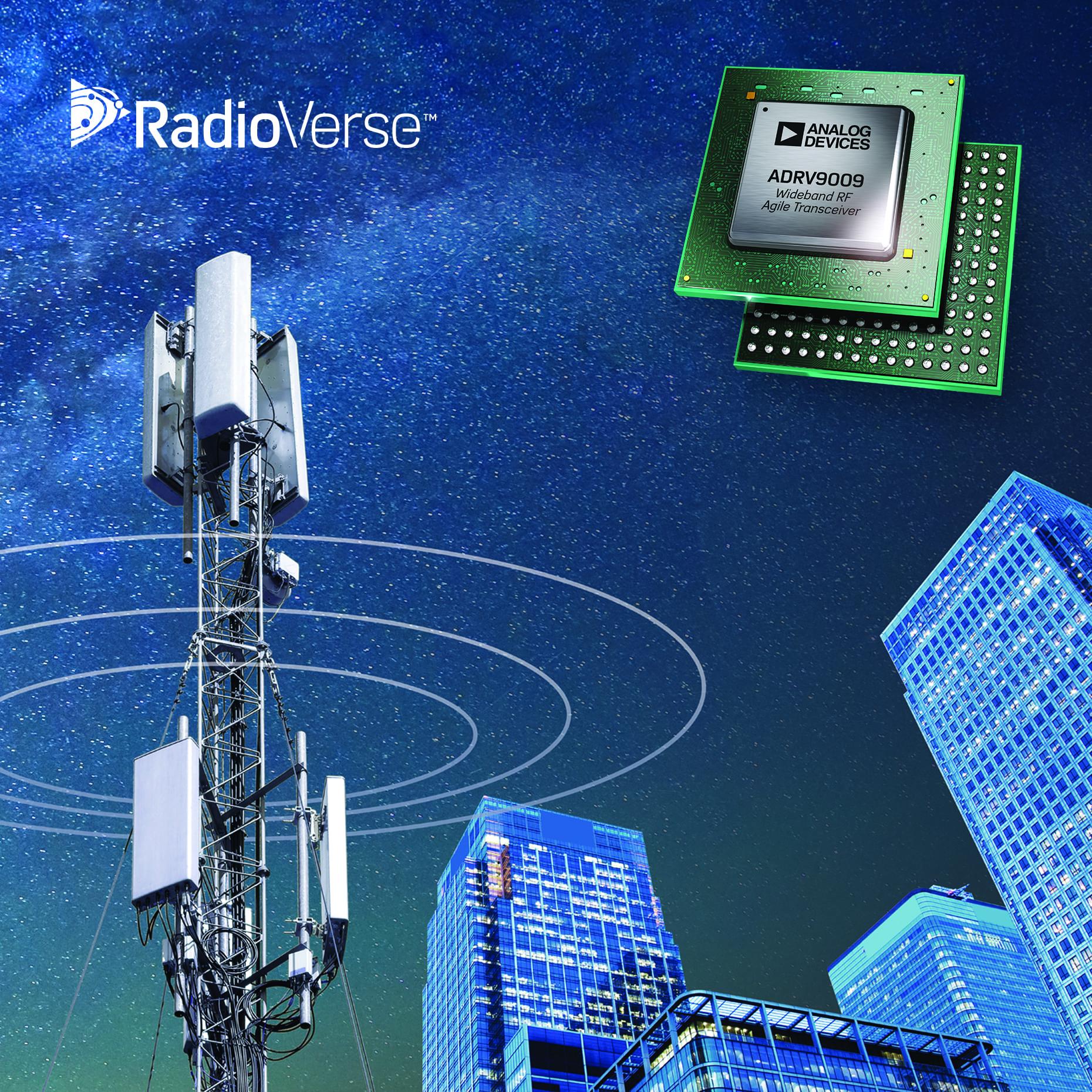 Industry's Widest Bandwidth RF Transceiver Speeds Development