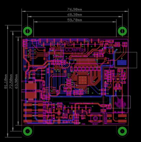 "Sunflower Shield - 3 5"" HMI Display w/ Cap Touch for Arduino"
