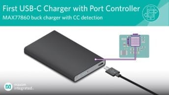 Highly Integrated USB-C Buck Charger from Maxim Reduces Size