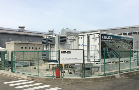 Delta's Li-ion Energy Storage System Integrated into Mitsubishi